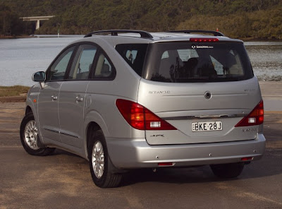 Ssangyong Stavic - new cars australia