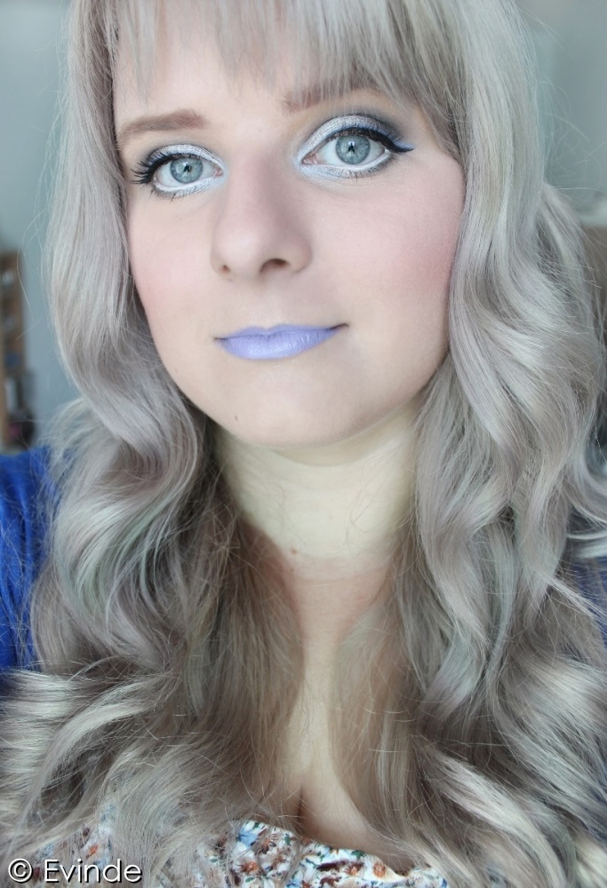 Silver Hair Don T Care Silver Eyes Amp Blue Lips