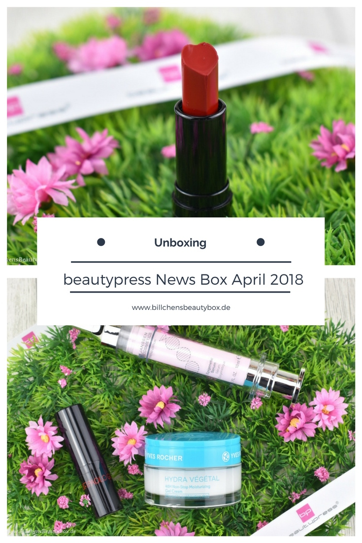 Unboxing und Inhalt beautypress News Box März - April 2018