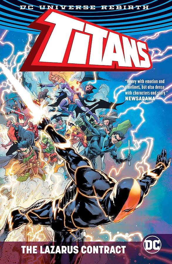 titans lazarus contract