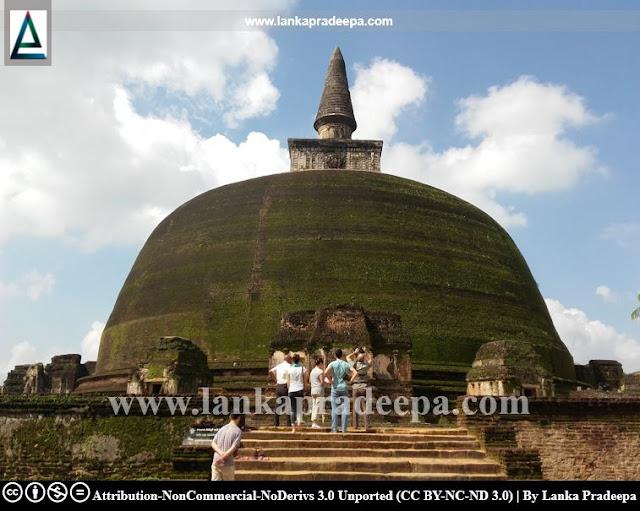 Rankoth Vehera, Polonnaruwa, Sri Lanka