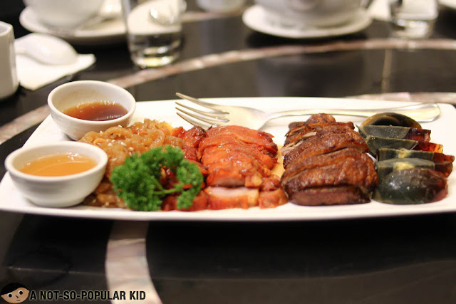 Roasted Meat Combination of Lugang Cafe