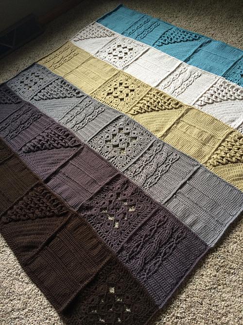 WEBS Mystery Crochet-A-Long Blanket - Free Pattern