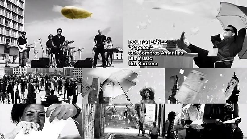 Polito Ibañez - ¨Papeles¨ - Videoclip - Dirección: Santana. Portal del Vídeo Clip Cubano