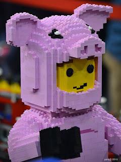 big lego pig