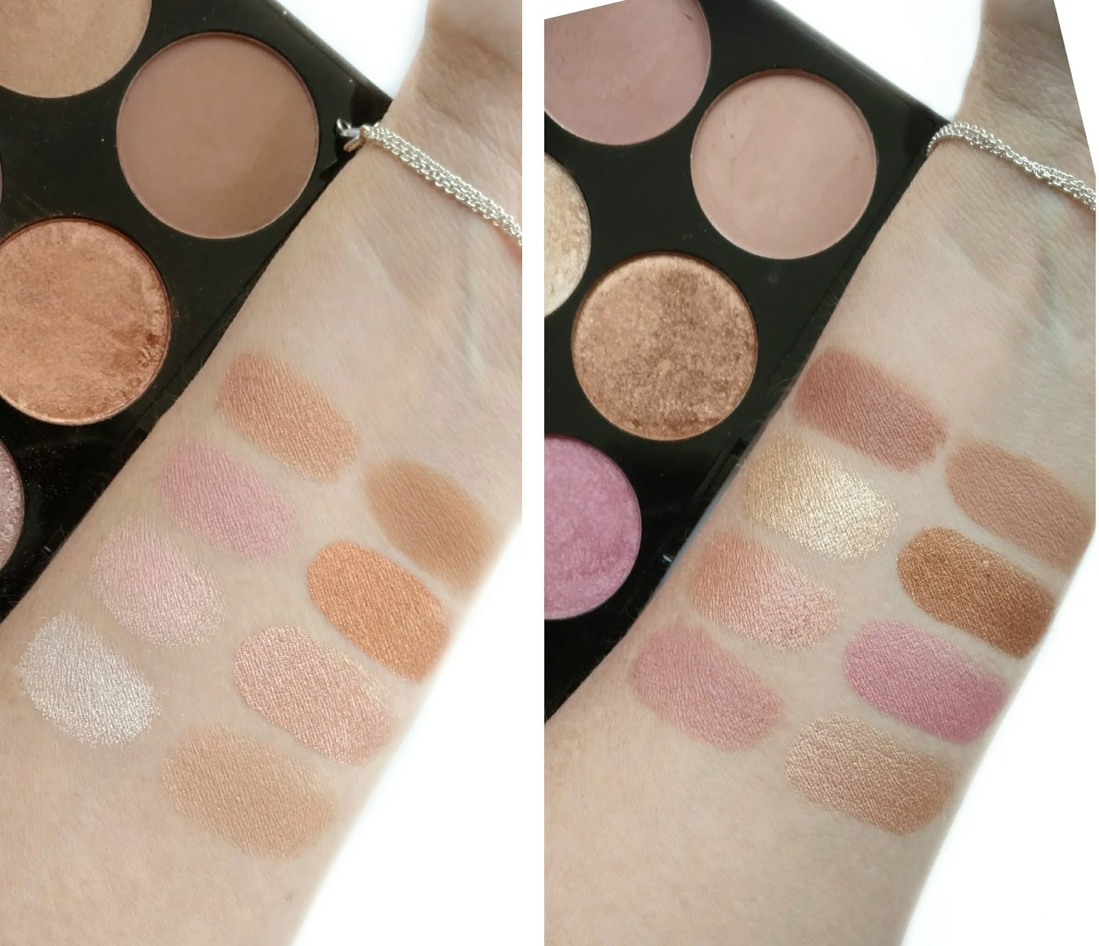 Golden Sugar 1 (left) and Golden Sugar 2 (right). Overall, the Makeup Revolution ...
