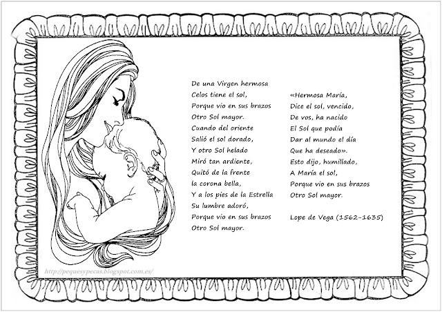 Poemas Del Día De La Madre Para Colorear Con Tus Peques Fondos De