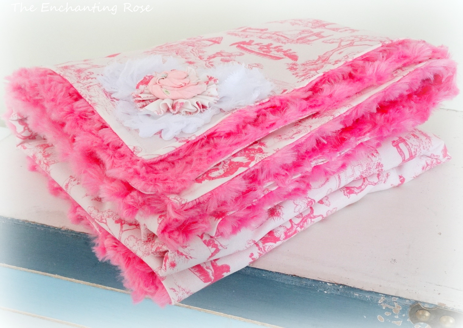 Oh So Soft Baby Blanket The Enchanting Rose
