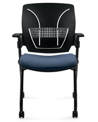 Roma Nesting Chairs for Training Room at OfficeAnything.com