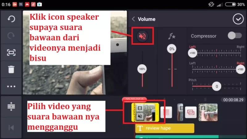 #4 Cara Menambah dan Edit Backsound Suara Di Dalam Project