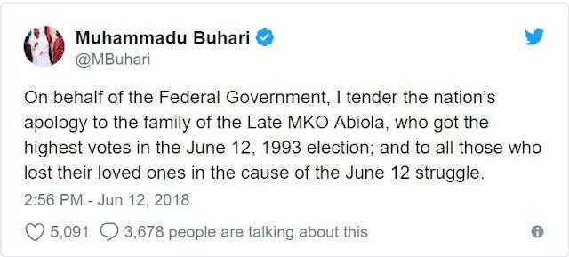 Fani-Kayode commends President Buhari