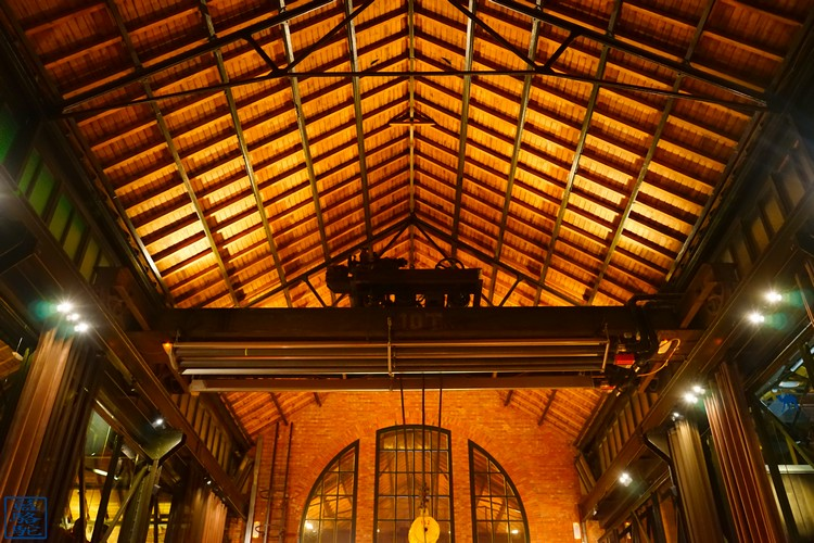 Le Chameau Bleu - Salle du restaurant Volta gastronomique Volta Gand