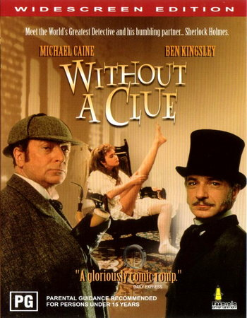 Without a Clue (1988) Dual Audio Hindi 300MB