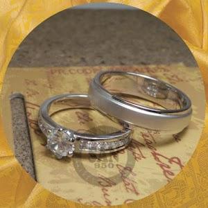 cincin kawin perak p5845