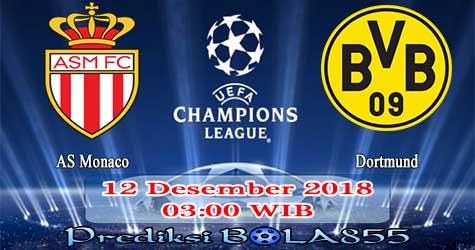 Prediksi Bola855 AS Monaco vs Dortmund 12 Desember 2018