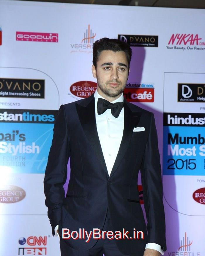 Imran Khan, Mumbai's Most Stylish Awards 2015 Full Photo Gallery