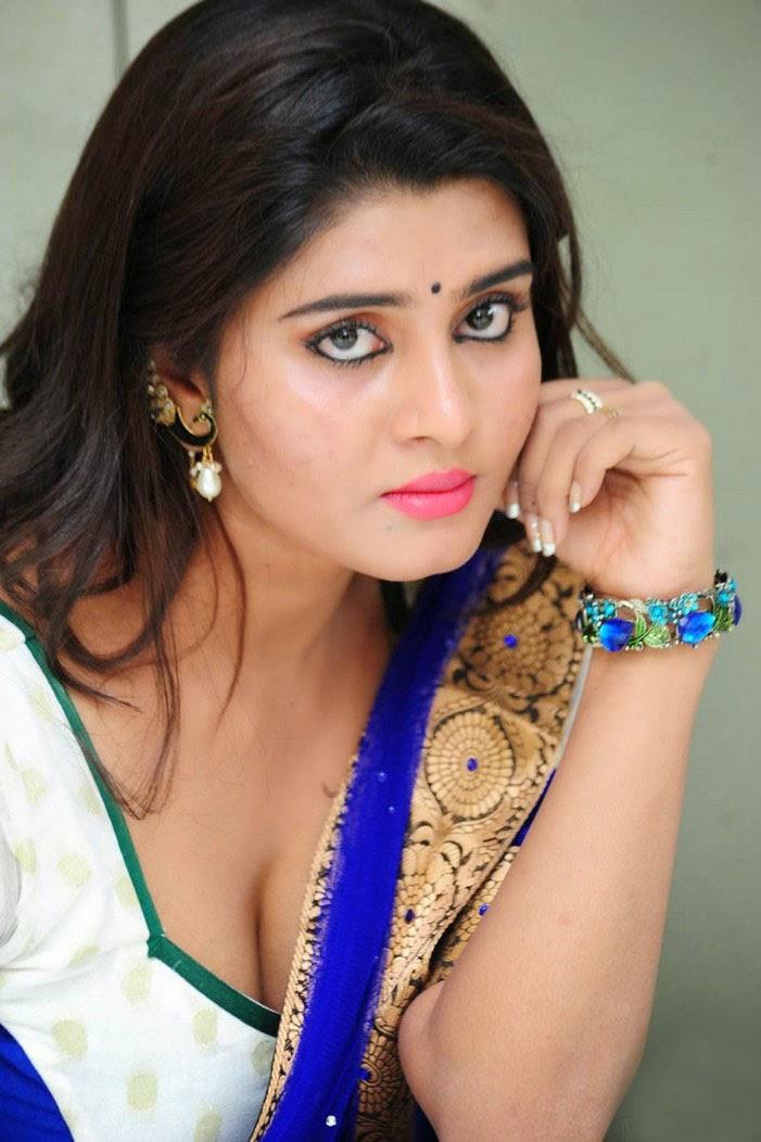 Latest 2015 Telugu Actress Harini Saree Images  Harini -9013