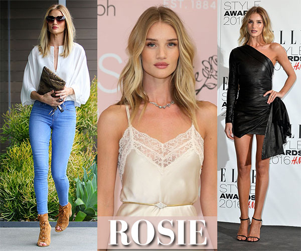 Rosie Huntington-Whiteley's closet ~ I want her style ...