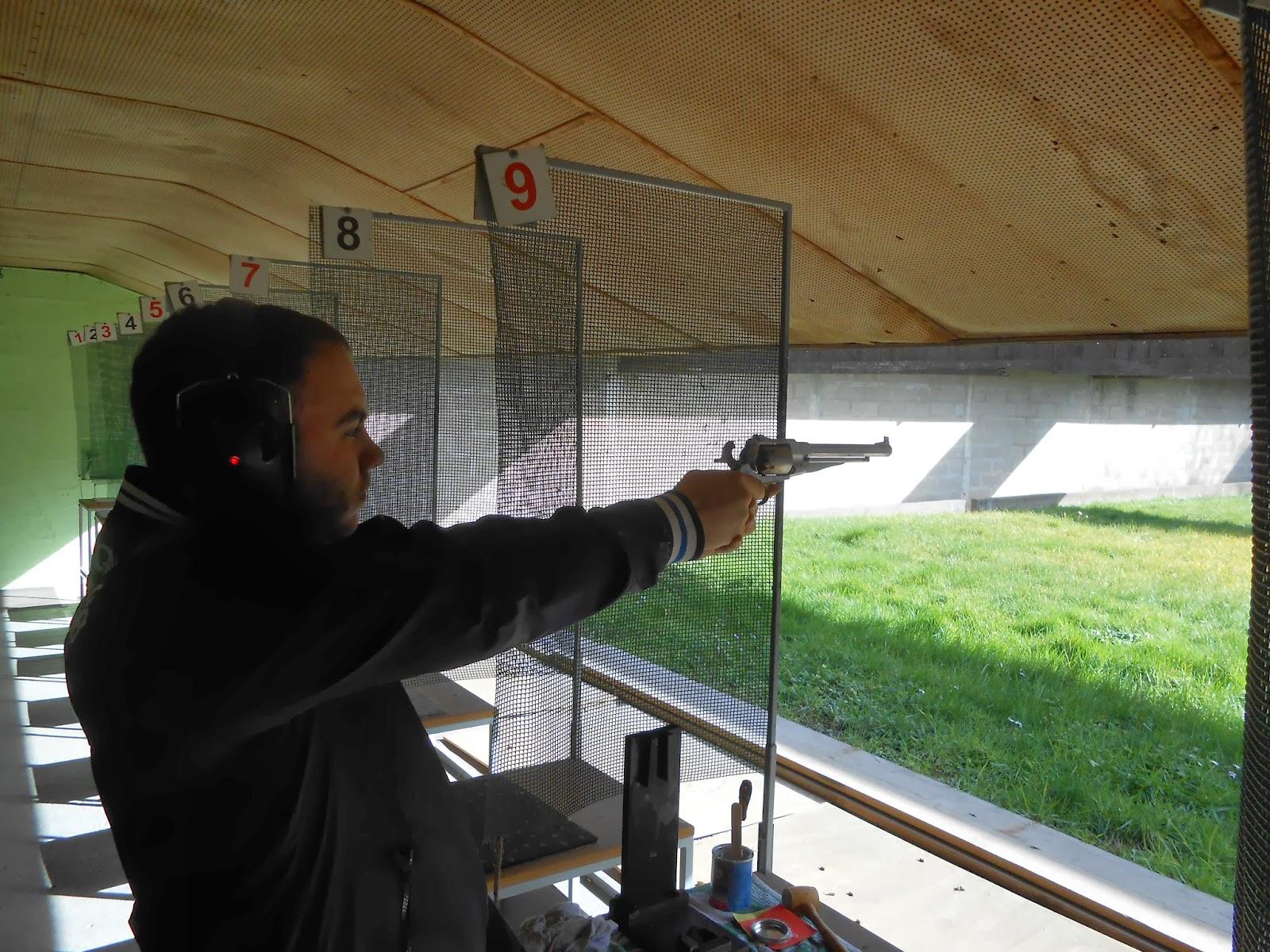 tir au remington poudre noire