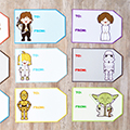 Star Wars Gift Tags