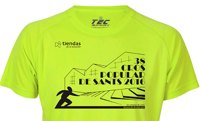 Camiseta 38ª Cros Popular de Sants