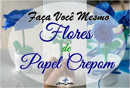 Rosas de Papel Crepom Lembrança de Papel Crepom