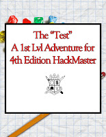 HackMaster 4 1st level adventure suitable for OSR games