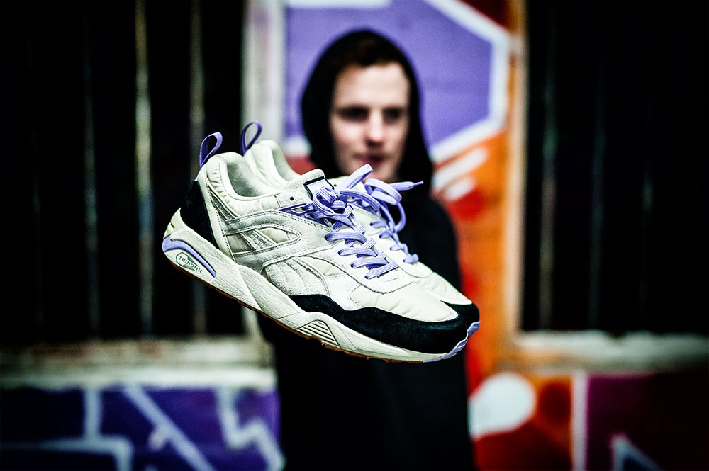 Sneaker Freaker X Puma R698 'Geography Teacher' Sneakers by Tom Cunningham