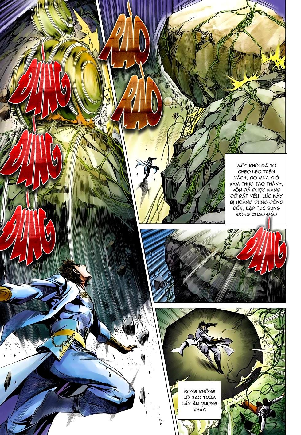 Anh Hùng Xạ Điêu anh hùng xạ đêu chap 54: kiếp hậu dư sinh thiến nữ kỳ mưu trang 15