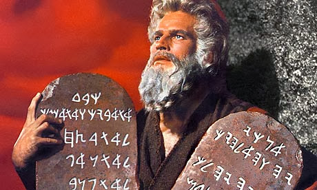 The Ten Commandments, Deconstructed