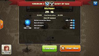 Clan TARAKAN 2 vs Spirit Of God, TARAKAN 2 Victory