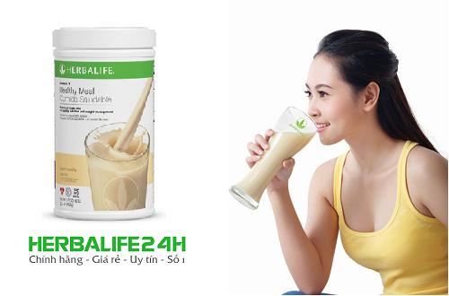 sữa herbalife f1 giúp giảm cân kiểm soát cân nặng