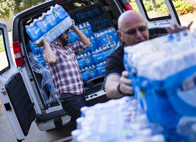Ways To Help Distribute Clean Water to Flint's Residents, as the City remains under a State of Emergency with Lead and Other Toxins in the Water.