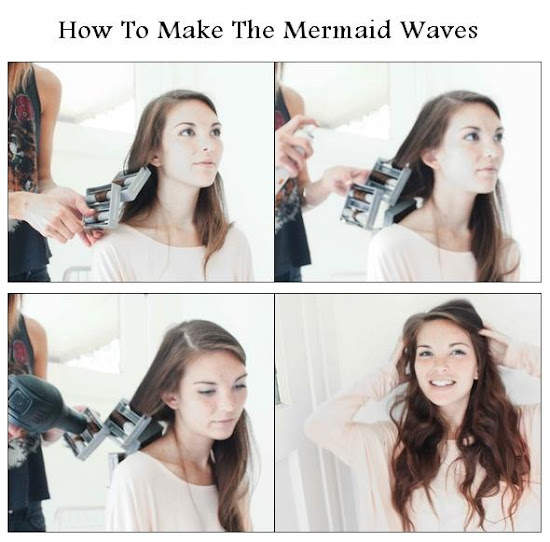 How To Make The Mermaid Waves