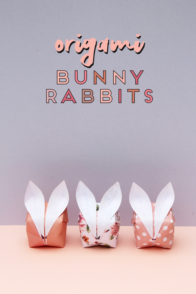 LEARN HOW TO MAKE BLOW-UP ORIGAMI BUNNY RABBITS.