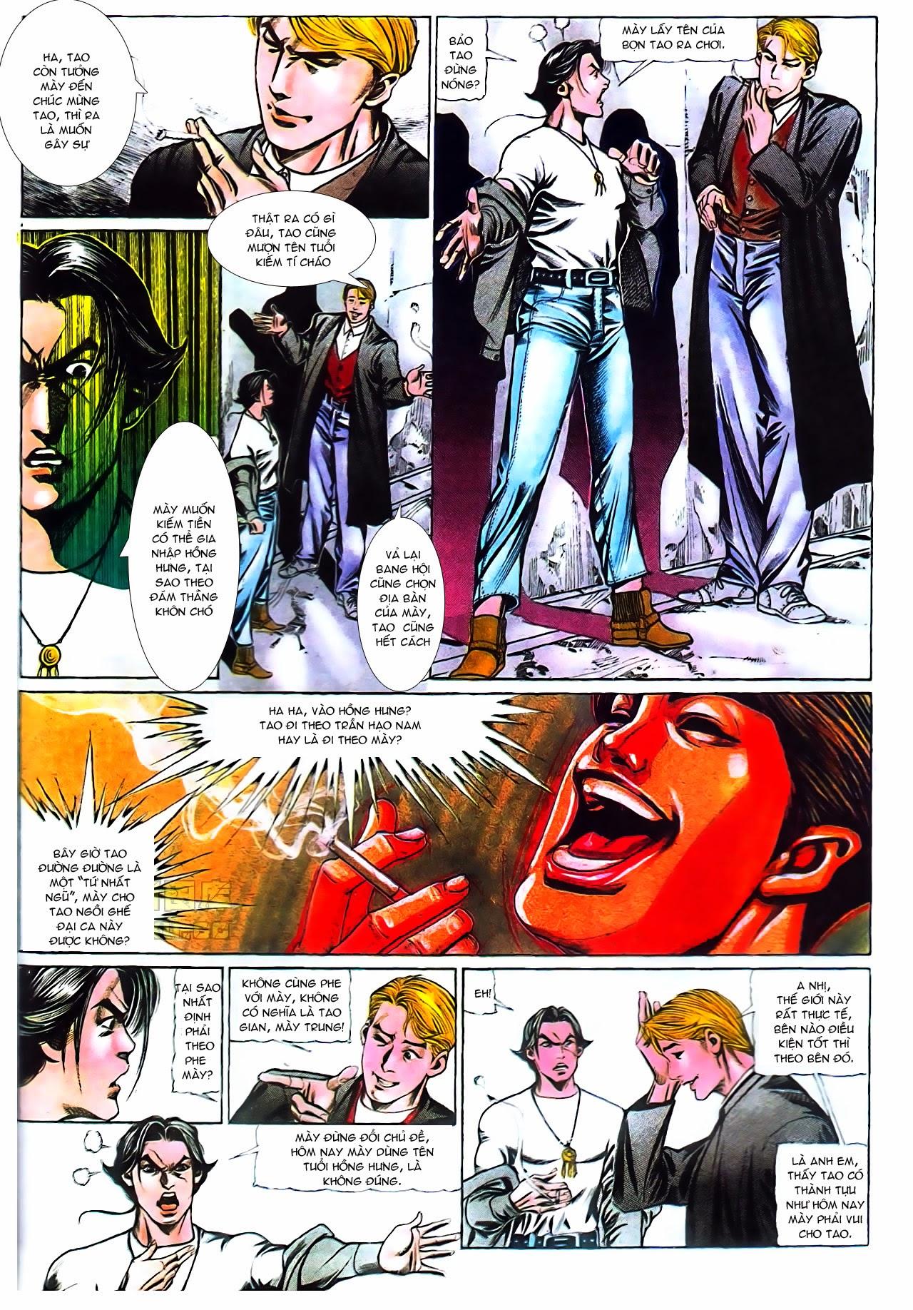 Người Trong Giang Hồ chapter 104: tuổi trẻ máu lửa trang 19