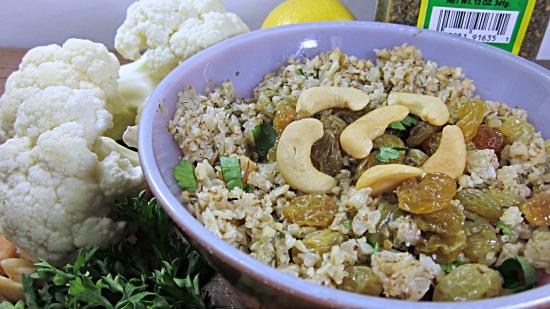 Lemon Garlic Cauliflower Grandma S Kitchen