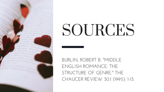 Summary of Robert Burlin's Article Middle English Romance: The Structure of Genre Sources