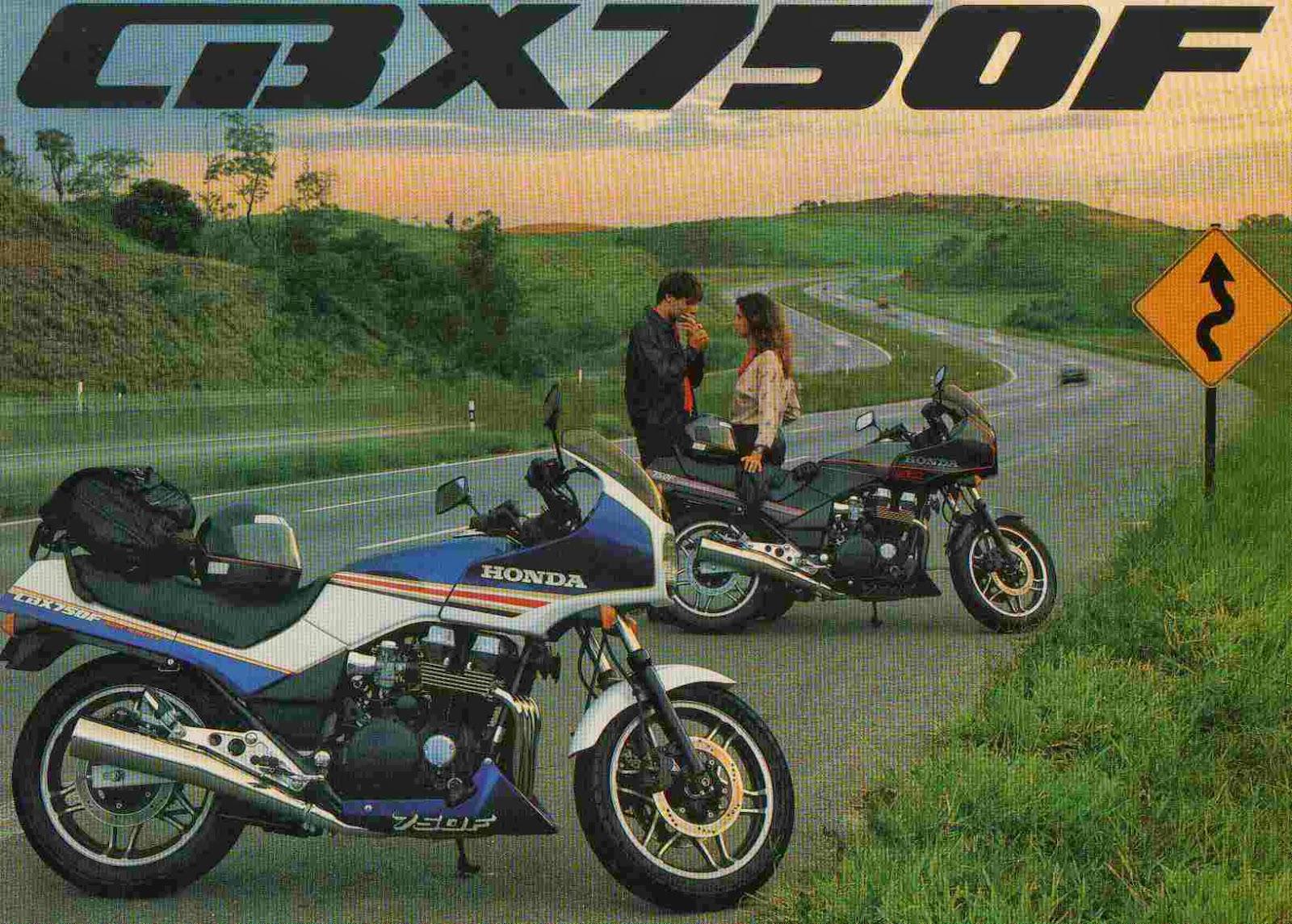 CBX750f - HONDA CBX750F