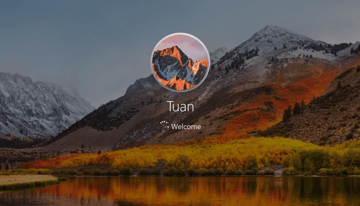 macOS High Serria Theme for Windows 10 - Ảnh 5