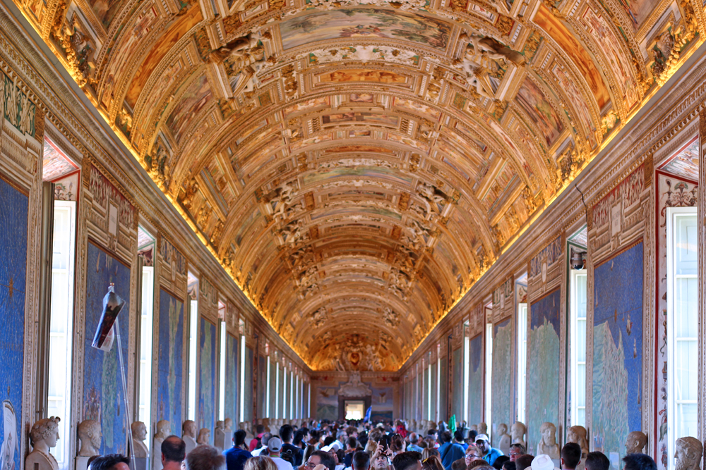 The most beautiful room in the world, at The Vatican, Rome - travel blog