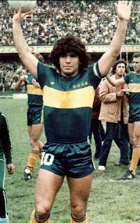 Diego Maradona con Boca Juniors