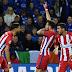 Leicester caiu diante do Atlético de Madrid