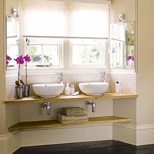 17887044 Leroy Merlin Diseño de baños con lavabos sobre encimera Baldas y lavabos  suspendidos Leroy Merlin Consejos para optimizar espacio en Baños DoSS ... 568fee37d8c