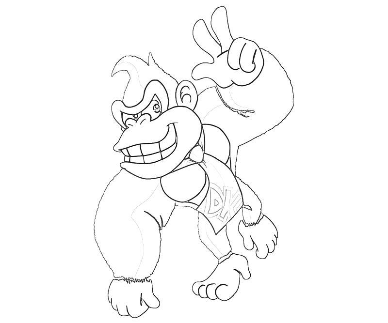 Donkey Kong Country Returns Donkey Kong Peace | Mario