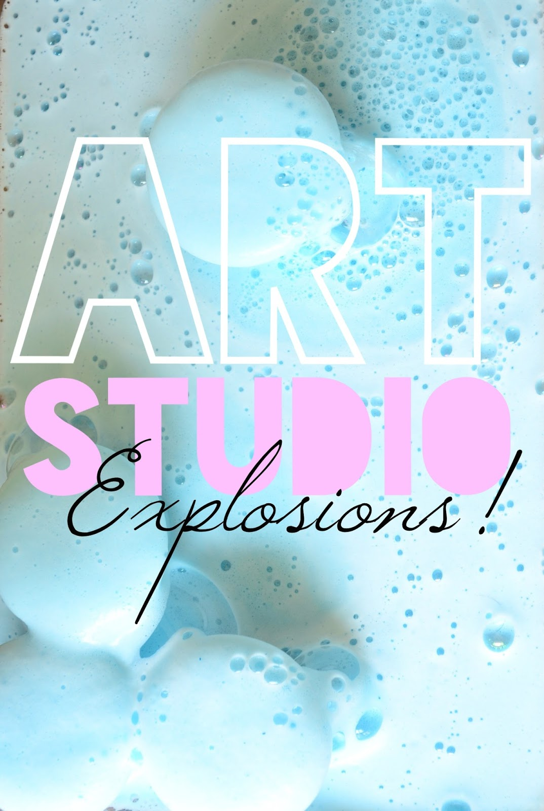 Art Studio Explosions your Kids will love! #LaughLearnLinkup