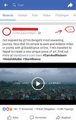 cara download video di facebook dengan handphone android