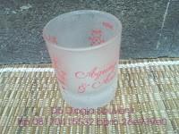 Souvenir Unik, souvenir Gelas dove sloki, souvenir pernikahan murah