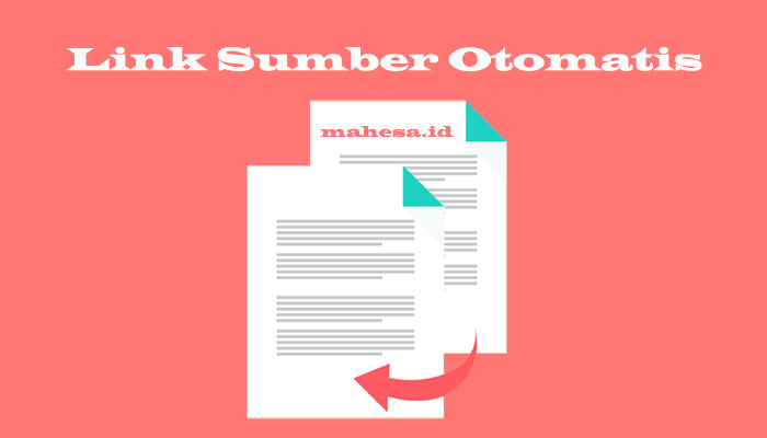 Membuat Link Sumber Otomatis Di Blog