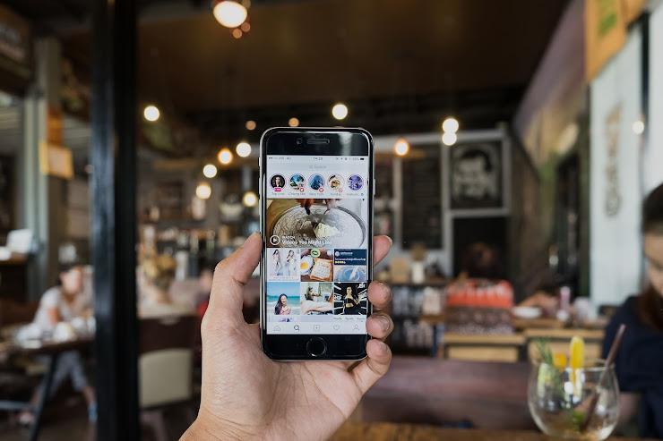 Instagram para negocios de hostelería y eventos